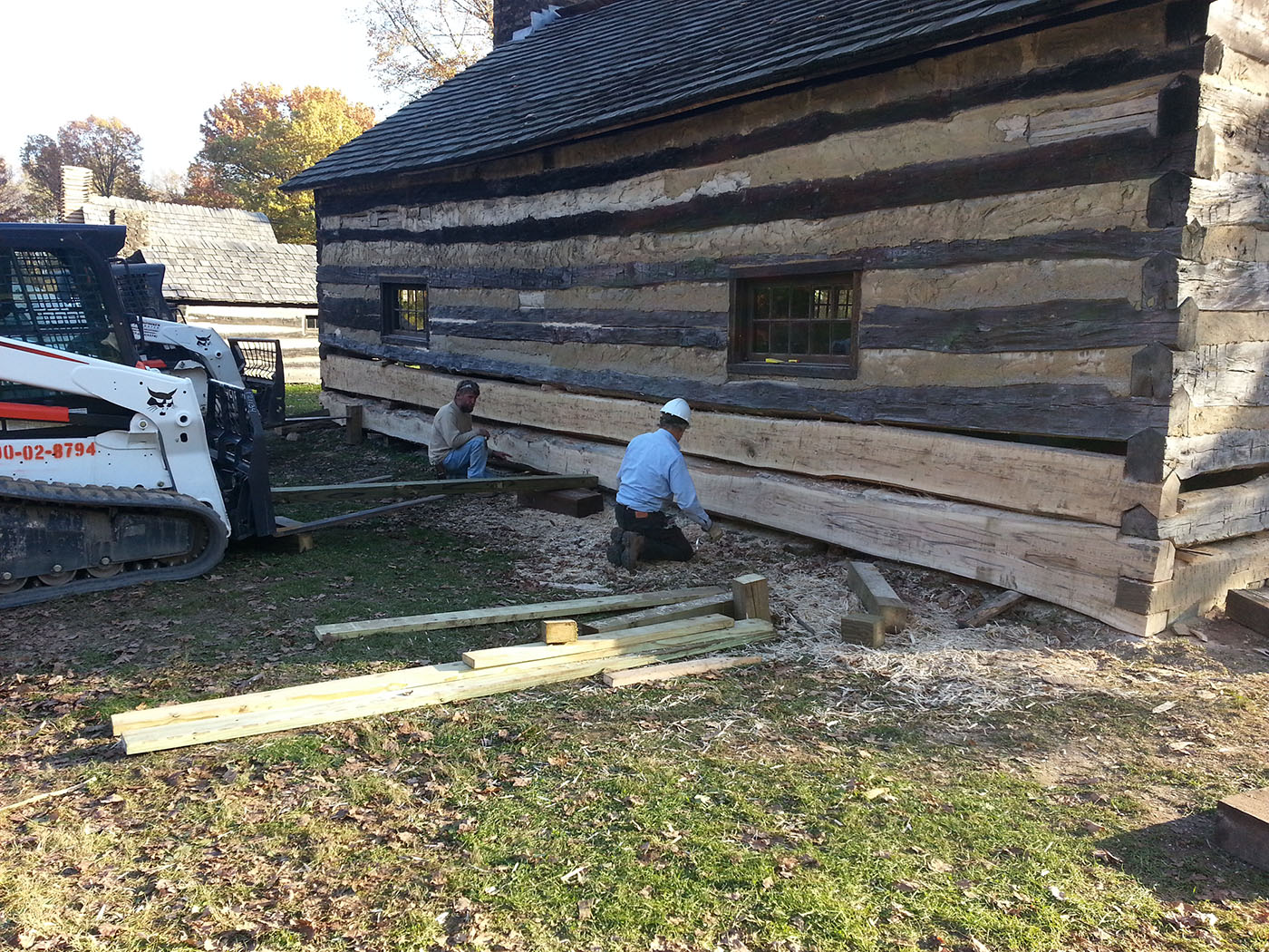 Lepi enterprises portfolio for Log cabin restoration