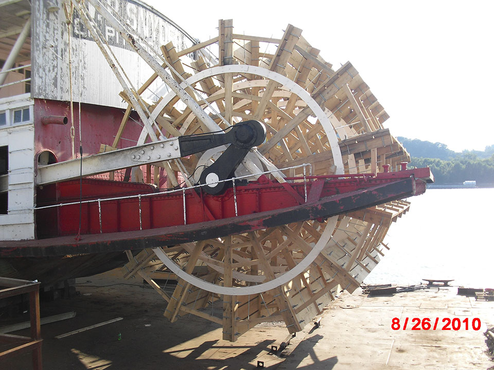 2 WP Snyder Jr Paddle Wheel Boat Restoration 2